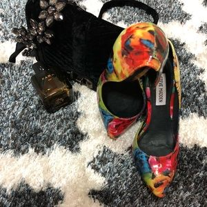 Colorful Steve madden pumps